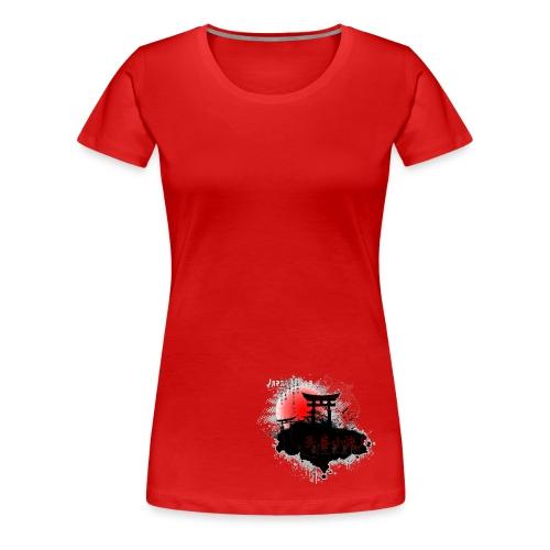 Japan  - Frauen Premium T-Shirt