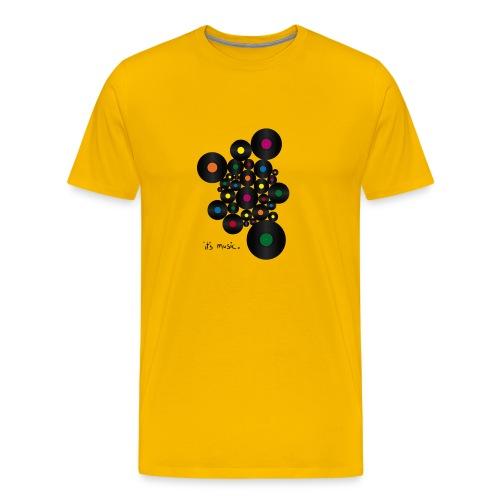its_music by - Männer Premium T-Shirt