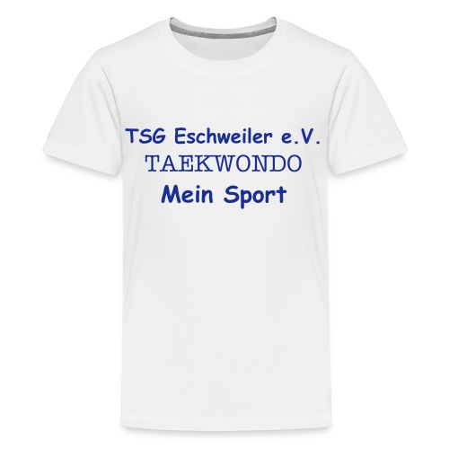 Freizeit-Shirt-Kiddis - Teenager Premium T-Shirt