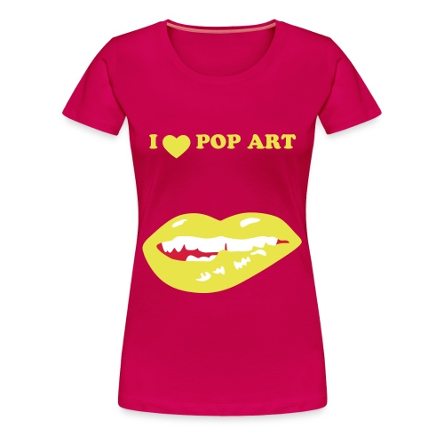 pop art - Frauen Premium T-Shirt