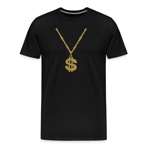 $ gold T€€ - Männer Premium T-Shirt