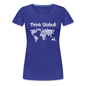 Think Globuli - Frauen Premium T-Shirt