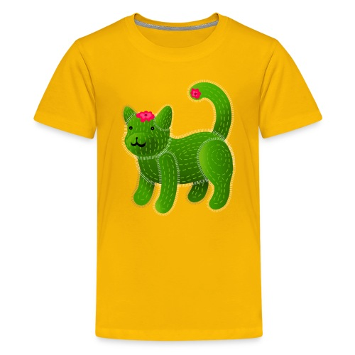 Catcus - Teenage Premium T-Shirt