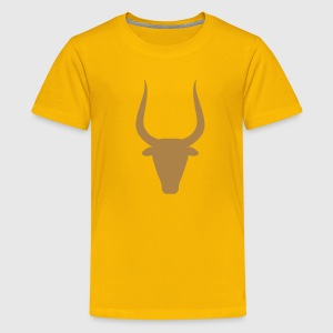 Stier Kinder T-Shirts - Teenager Premium T-Shirt
