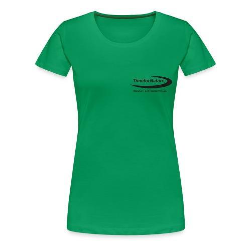 TimeforNature-Shirt für Damen XL - 3XL mit Logo  - Frauen Premium T-Shirt