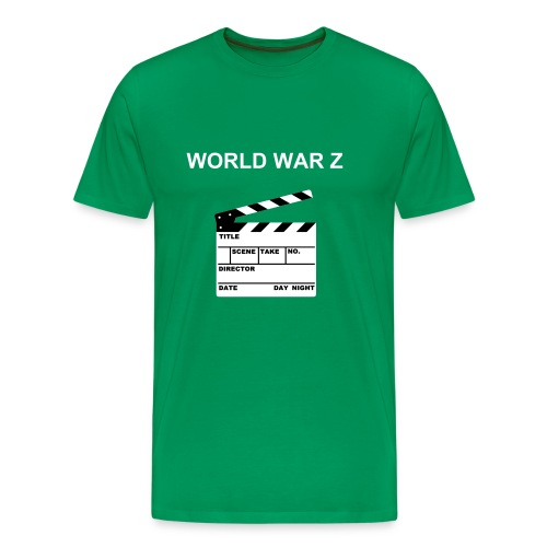 WWZ Clapper Board - Men's Premium T-Shirt
