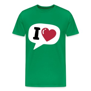 What I Heart - Männer Premium T-Shirt