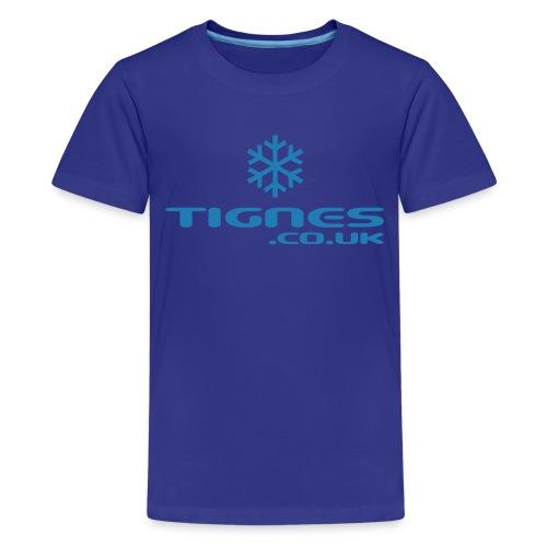 Teenage Premium T-Shirt - Kids Glitter Tee