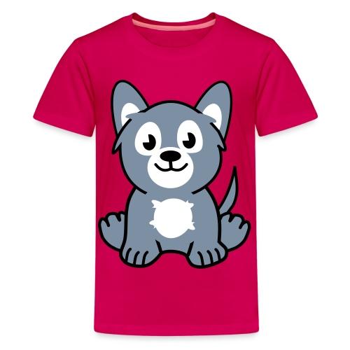 Valp - Premium-T-shirt tonåring