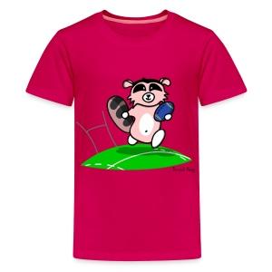 Amazoon la Racoon pour les p'tits - T-shirt Premium Ado