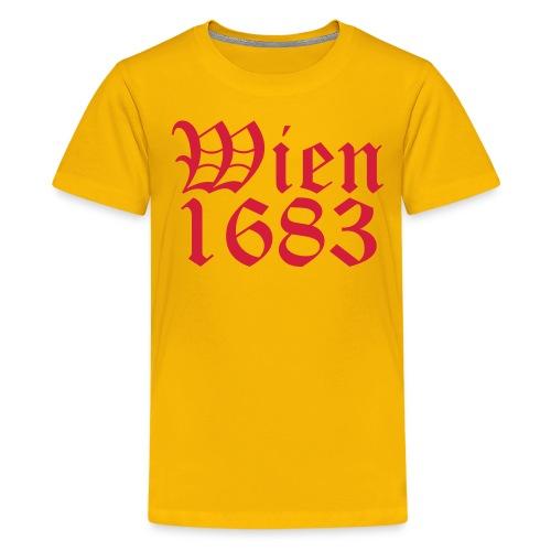 Wien 1683 - Teenager Premium T-Shirt