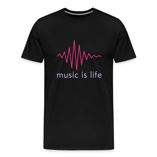 Men shirt music - Men's Premium T-Shirt