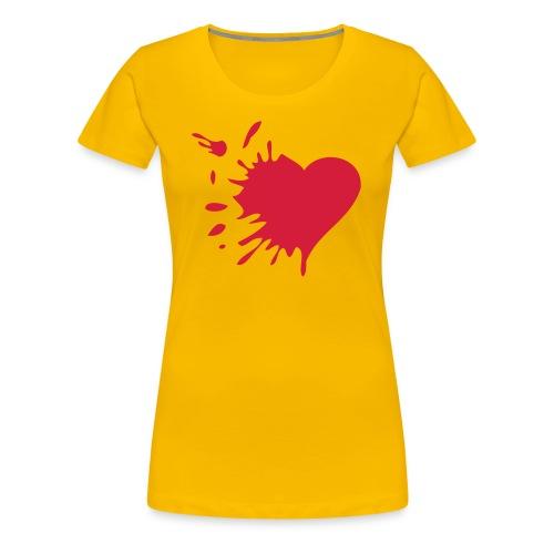 Corazón - Camiseta premium mujer