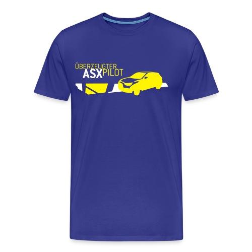 Überzeugter ASX Pilot - Männer Premium T-Shirt