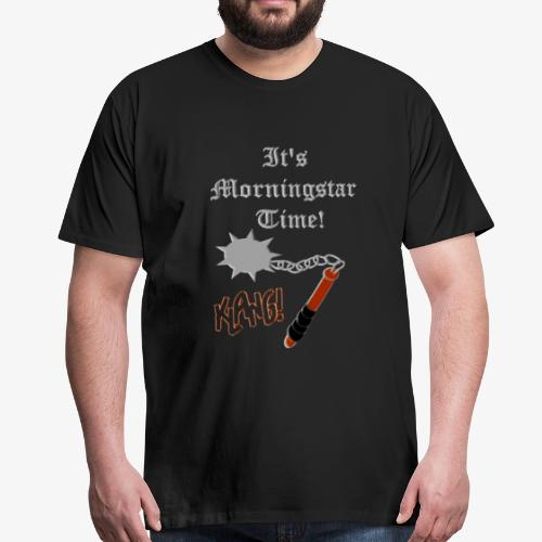 (Good)MORNINGSTAR(t) - Men's Premium T-Shirt