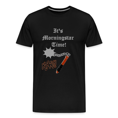 (Good)MORNINGSTAR(t) - Mannen Premium T-shirt