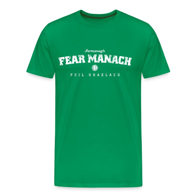 Vintage Fermanagh Football T-Shirt