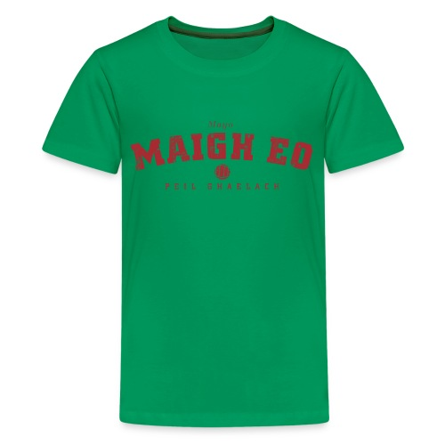 Vintage Mayo Football T-Shirt - Teenage Premium T-Shirt