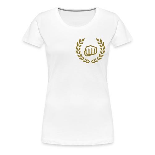 nichts gerafft - Frauen Premium T-Shirt