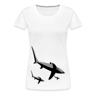 T-Shirts ~ Frauen Premium T-Shirt ~ Shark