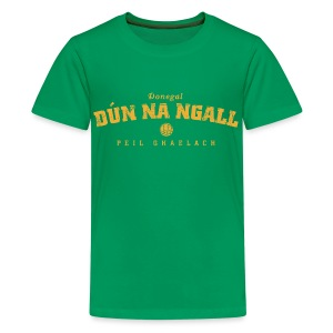 Vintage Donegal Football T-Shirt - Teenage Premium T-Shirt