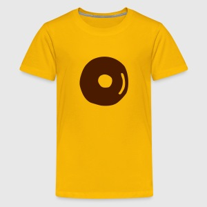 Donut Schoko Kinder T-Shirts - Teenager Premium T-Shirt