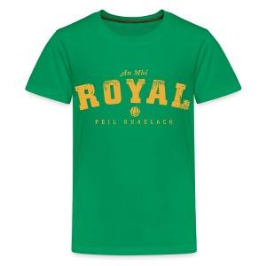 Vintage Meath Football T-Shirt - Teenage Premium T-Shirt