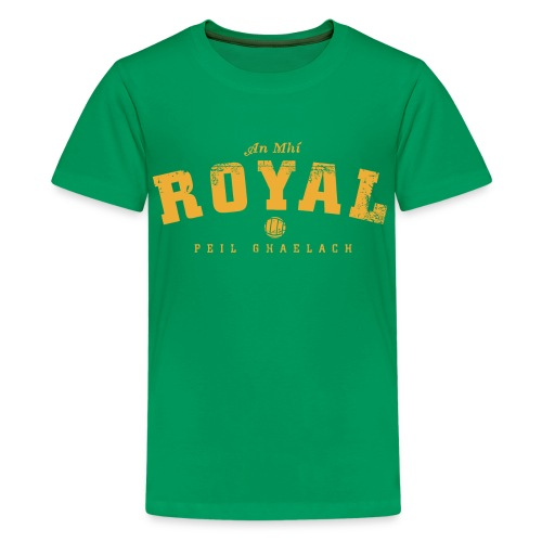 Vintage Meath Football T-Shirt - Teenage Premium T-Shirt