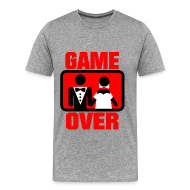 Camisetas ~ Camiseta premium hombre ~ Game Over