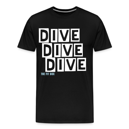 Man Dive Tee - Men's Premium T-Shirt