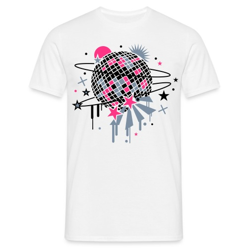 Shining Disco - Männer T-Shirt