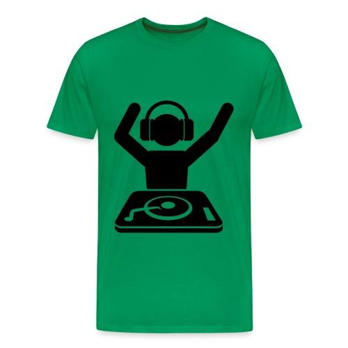 Dj-official - Mannen Premium T-shirt