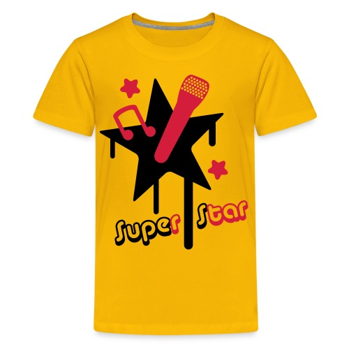 Star T-shirt - Teenager Premium T-shirt