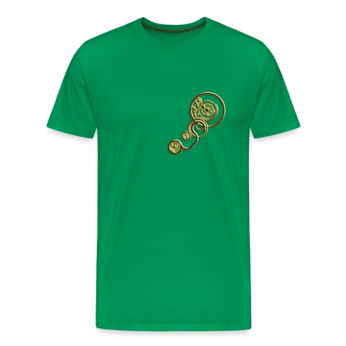 [Men's] Clockwork - GOLD - Men's Premium T-Shirt