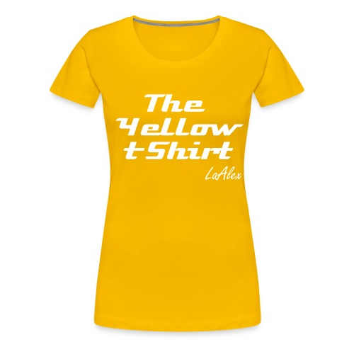 The yellow t-shirt - Maglietta Premium da donna