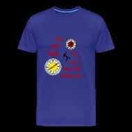 Camisetas ~ Camiseta premium hombre ~ Dexter - tick, tick, tick