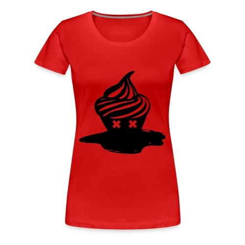 T-shirt Dead Cupcake cintré Femme - T-shirt Premium Femme