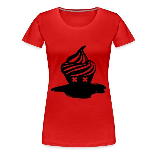 T-shirt Dead Cupcake cintré Femme