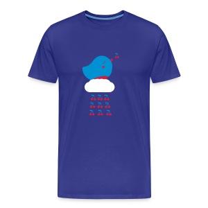 Cherry Bird  - Männer Premium T-Shirt