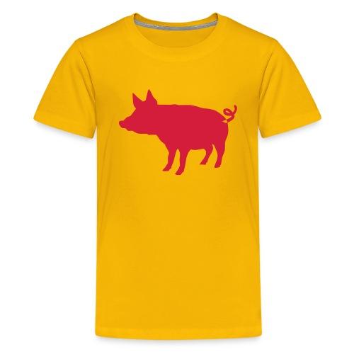 Schweinchen - Teenager Premium T-Shirt