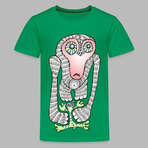 SQUISHED! ----------- (9yrs-14yrs) - Teenage Premium T-Shirt