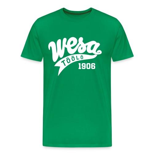 Wesa Vintage 1 - Miesten premium t-paita