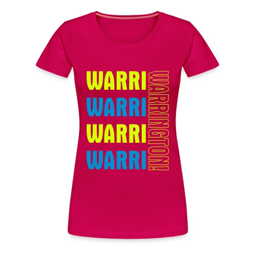 Warri Warrington Ladies Pink T - Women's Premium T-Shirt
