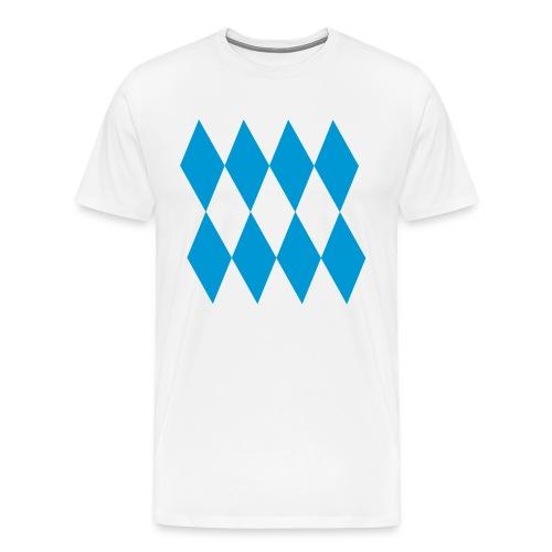 Rauten - Männer Premium T-Shirt