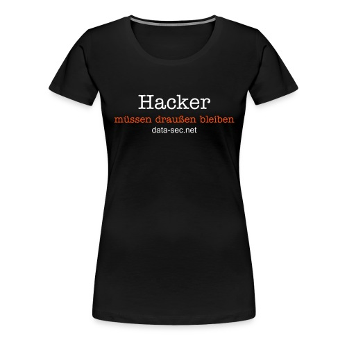 data-sec.net - Hacker (women) - Frauen Premium T-Shirt