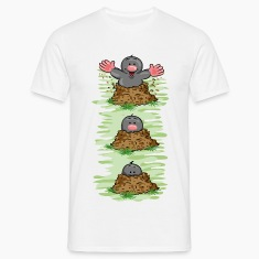 Happy Mole T-Shirts