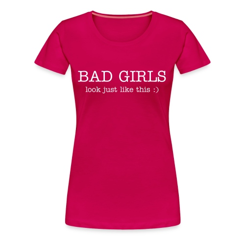 Badgirl1 - Women's Premium T-Shirt
