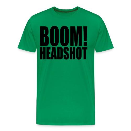 BOOM! Headshot - Men's Premium T-Shirt