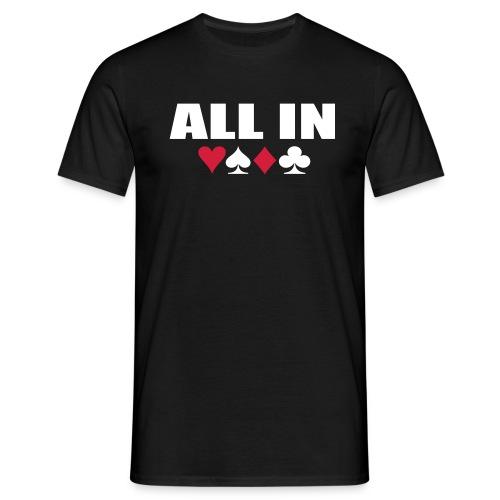 Maglietta Uomo - All In - Maglietta da uomo