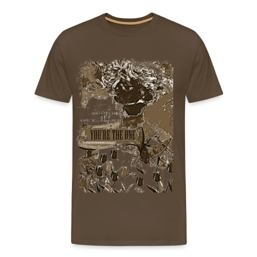 You are the one, klassisk tee - Men's Premium T-Shirt